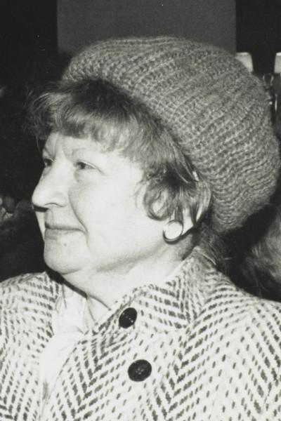 photo of Gita May (1929-2016)