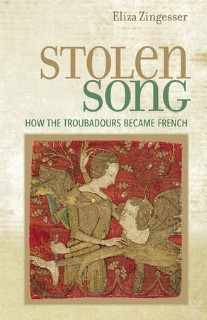 book jacket; STOLEN SONG