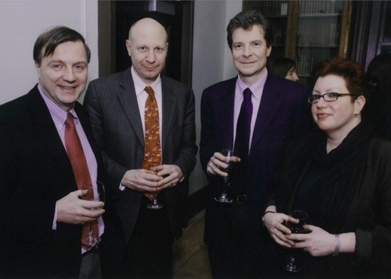 From left to right: Pierre Force (1997-2007), Phil Watts (2008-2012), Antoine Compagnon (1992-1994), Elisabeth Ladenson (2012-2015)